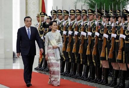 တရုတ်နိုင်ငံနှင့် မြန်မာ့ငြိမ်းချမ်းရေး