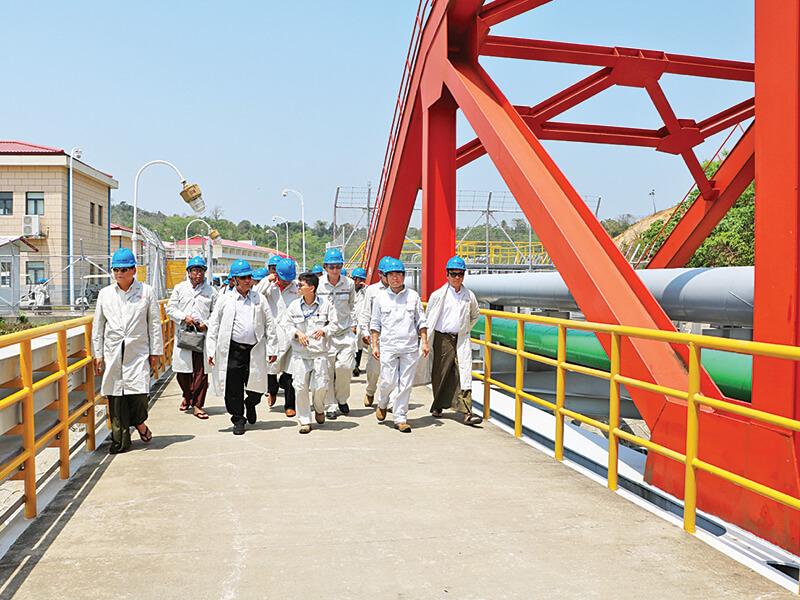 တရုတ်-မြန်မာ ရေနံနှင့်သဘာဝဓာတ်ငွေ့ပိုက်လိုင်းစီမံကိန်း