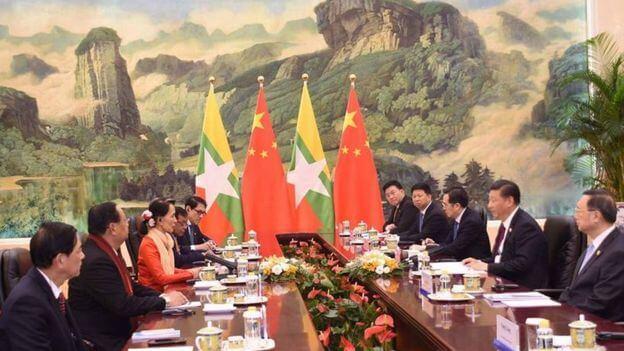 တရုတ်-မြန်မာစီးပွားရေးစင်္ကြံ