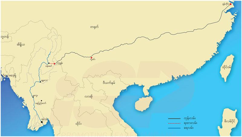 တရုတ်-မြန်မာ ဧရာဝတီစီးပွားရေးရပ်ဝန်း (သို့ ) ရေကြောင်းခါးပတ်လမ်းစီမံကိန်း